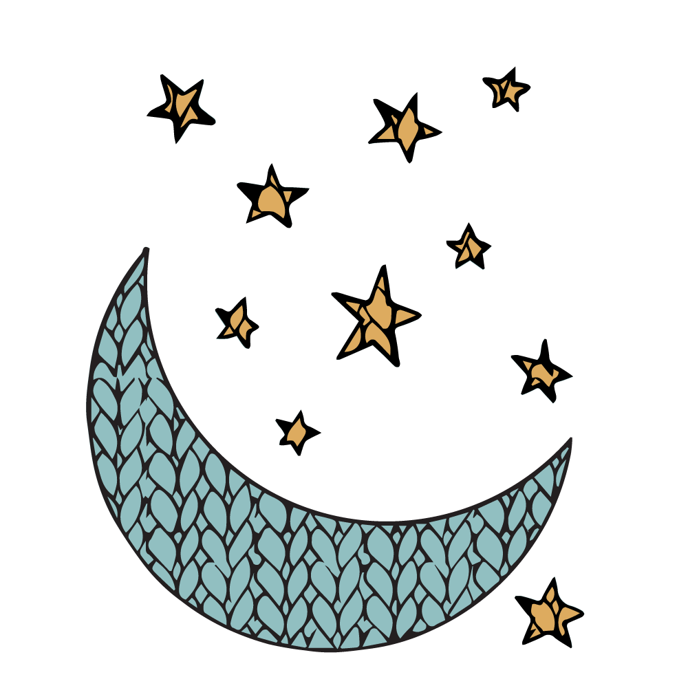 'Tis the SeasonNocturnal Knits Logo