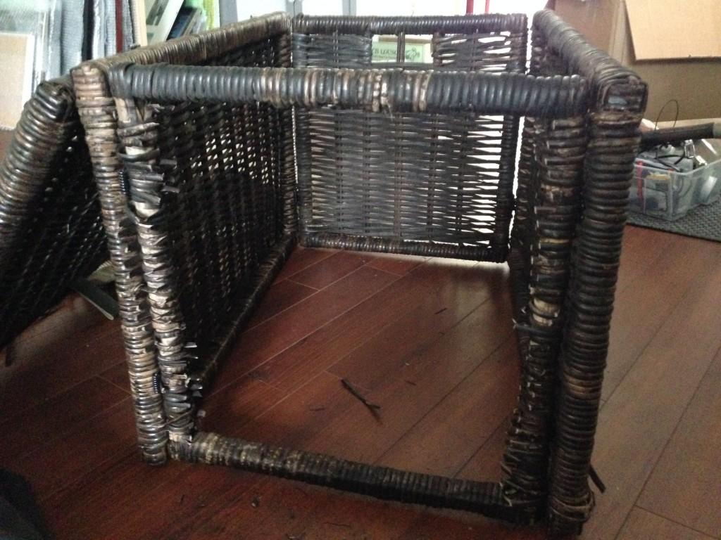 Ikea hack litter box from byholma chest nocturnal knits - Mobili ikea modificati ...