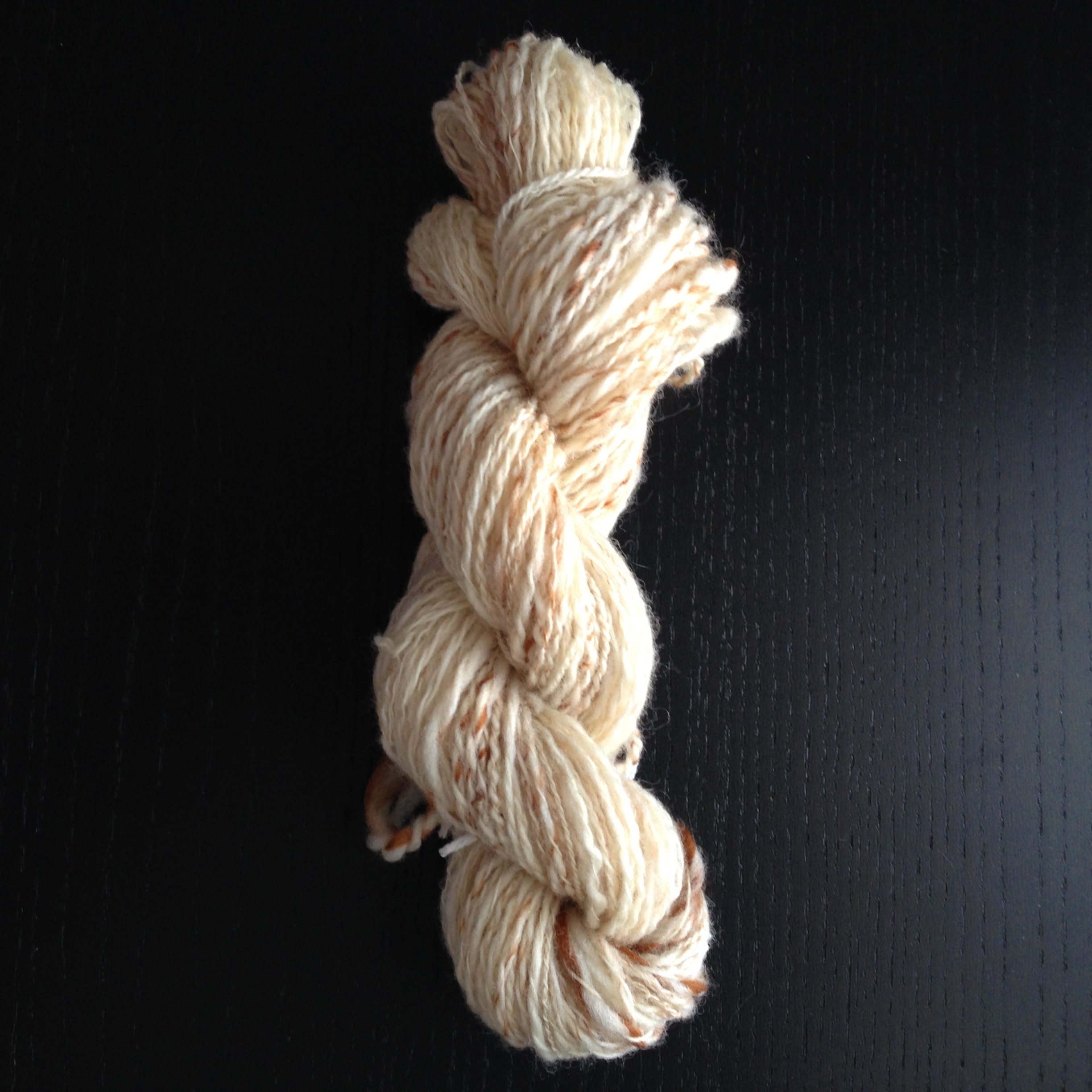 My first handspun skein