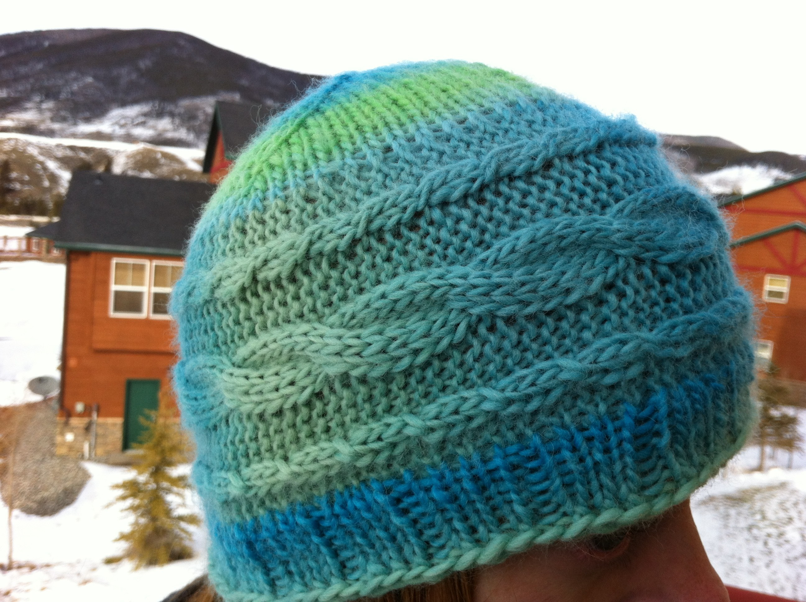 Gondola Cables Hat | Original Knitting Pattern by Laura Birek ...
